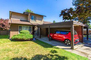 "Photo 1: 6928 134 Street in Surrey: West Newton House 1/2 Duplex for sale in ""BENTLEY"" : MLS®# R2490871"