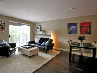"Photo 3: 203 2780 ACADIA Road in Vancouver: University VW Townhouse for sale in ""LIBERTA"" (Vancouver West)  : MLS®# V792769"