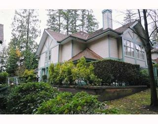 Photo 1: 6 65 FOXWOOD Drive in Port Moody: Heritage Mountain Townhouse for sale : MLS®# V798179
