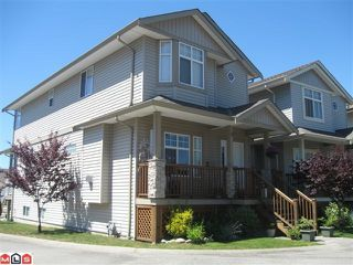 "Photo 1: 116 33751 7TH Avenue in Mission: Mission BC Townhouse for sale in ""HERITAGE PARK"" : MLS®# F1019203"