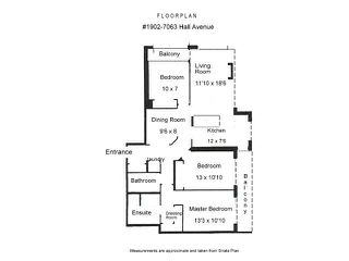 """Photo 10: 1902 7063 HALL Avenue in Burnaby: Highgate Condo for sale in """"THE EMERSON"""" (Burnaby South)  : MLS®# V849385"""