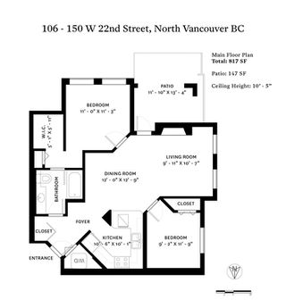 "Photo 20: 106 150 W 22ND Street in North Vancouver: Central Lonsdale Condo for sale in ""The Sierra"" : MLS®# R2418794"