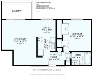 Photo 32: 303 10160 83 Avenue in Edmonton: Zone 15 Condo for sale : MLS®# E4207459