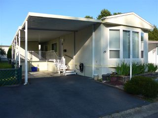 "Photo 1: 29 2120 KING GEORGE Boulevard in Surrey: King George Corridor Manufactured Home for sale in ""Five Oaks Park"" (South Surrey White Rock)  : MLS®# R2485760"