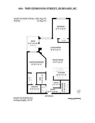 "Photo 31: 404 7655 EDMONDS Street in Burnaby: Highgate Condo for sale in ""BELLA"" (Burnaby South)  : MLS®# R2488560"