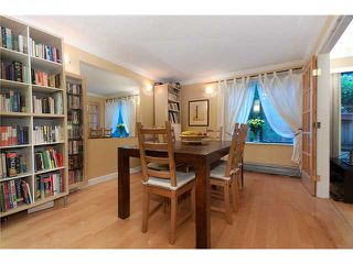 """Photo 6: 109/ 1710 W 13TH Avenue in Vancouver: Fairview VW Condo for sale in """"PINE RIDGE"""" (Vancouver West)  : MLS®# V865435"""