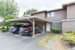 "Main Photo: 7 7740 ABERCROMBIE Drive in Richmond: Brighouse South Townhouse for sale in ""The Meadows"" : MLS®# R2393812"