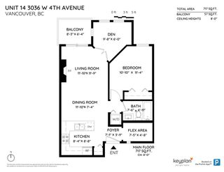 """Photo 20: 14 3036 W 4TH Avenue in Vancouver: Kitsilano Condo for sale in """"SANTA BARBARA"""" (Vancouver West)  : MLS®# R2410164"""