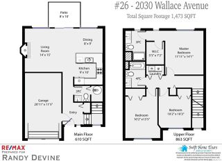 Photo 2: 26 2030 Wallace Ave in COMOX: CV Comox (Town of) Row/Townhouse for sale (Comox Valley)  : MLS®# 840731
