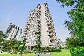 "Photo 1: 905 740 HAMILTON Street in New Westminster: Uptown NW Condo for sale in ""Statesman"" : MLS®# R2522713"