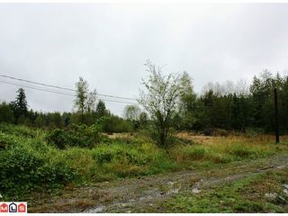 Photo 1: 5683 BAYNES Street in Abbotsford: Bradner Land for sale : MLS®# F1023266