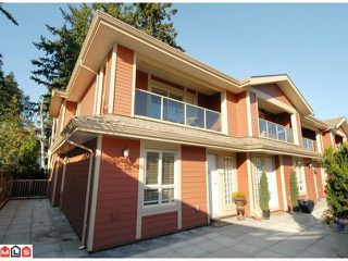 "Photo 1: 5 14921 THRIFT Avenue: White Rock Townhouse for sale in ""NICOLE PLACE"" (South Surrey White Rock)  : MLS®# F1025156"