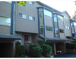 "Photo 1: 4 1195 FALCON Drive in Coquitlam: Eagle Ridge CQ Townhouse for sale in ""THE COURTYARDS"" : MLS®# V775028"