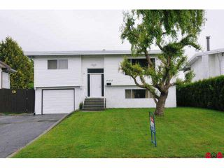 Photo 1: 46403 CORNWALL in Chilliwack: Chilliwack E Young-Yale House for sale : MLS®# H1003598