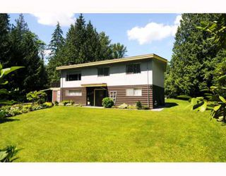 Photo 1: 24685 HALNOR Avenue in Maple_Ridge: Websters Corners House for sale (Maple Ridge)  : MLS®# V764592