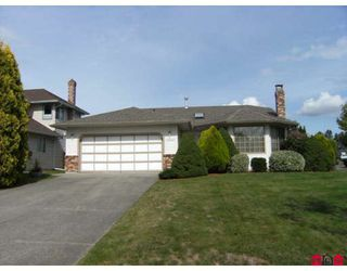 "Photo 1: 18567 60A Avenue in Surrey: Cloverdale BC House for sale in ""Eaglecrest"" (Cloverdale)  : MLS®# F2919005"