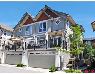 "Photo 1: 19 20120 68TH Avenue in Langley: Willoughby Heights Townhouse for sale in ""THE OAKS"" : MLS®# F2819871"