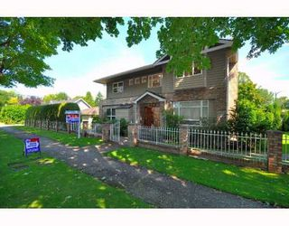 Photo 1: 1019 NANTON Avenue in Vancouver: Shaughnessy House for sale (Vancouver West)  : MLS®# V777065