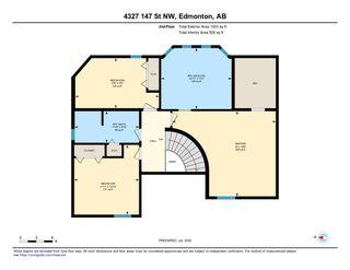 Photo 44: 4327 147 Street Street in Edmonton: Zone 14 House for sale : MLS®# E4216577