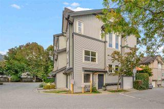 """Photo 1: 38 8737 161 Street in Surrey: Fleetwood Tynehead Townhouse for sale in """"Boardwalk"""" : MLS®# R2509435"""