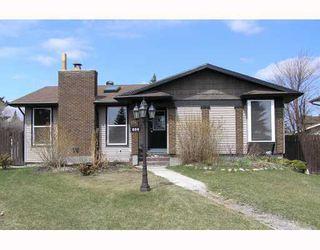 Photo 1: 9 GLENWOOD Bay: Cochrane Residential Detached Single Family for sale : MLS®# C3376080