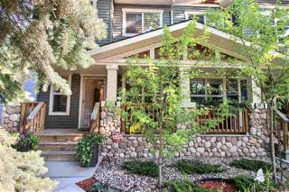 Photo 1: 9504 86 Avenue in Edmonton: Zone 18 House Half Duplex for sale : MLS®# E4172512