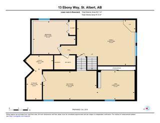 Photo 30: 13 EBONY Way: St. Albert House for sale : MLS®# E4177597