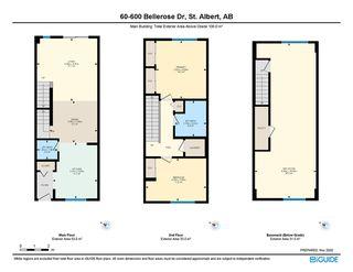 Photo 27: 60 600 Bellerose Drive: St. Albert Townhouse for sale : MLS®# E4220750