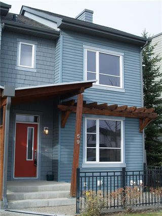 Main Photo: 59 CHAPALINA Square SE in Calgary: Chaparral Row/Townhouse for sale : MLS®# A1057338