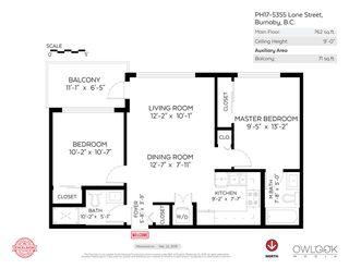 Photo 15: PH17 5355 LANE Street in Burnaby: Metrotown Condo for sale (Burnaby South)  : MLS®# R2407795