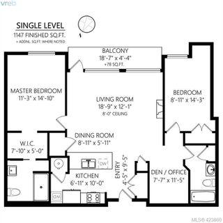 Photo 44: 307 1510 Hillside Avenue in VICTORIA: Vi Hillside Condo Apartment for sale (Victoria)  : MLS®# 423860