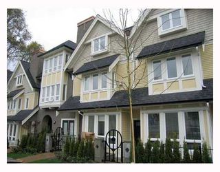 "Photo 1: 1616 ARBUTUS Street in Vancouver: Kitsilano Townhouse for sale in ""KITSILANO MEWS"" (Vancouver West)  : MLS®# V802876"