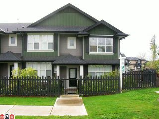 "Photo 1: 19 18199 70TH Avenue in Surrey: Cloverdale BC Townhouse for sale in ""AUGUSTA AT PROVINCETON"" (Cloverdale)  : MLS®# F1011393"