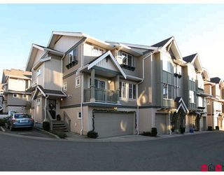 "Photo 1: 35 6651 203RD Street in Langley: Willoughby Heights Townhouse for sale in ""SUNSCAPE"" : MLS®# F2833451"