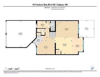 Photo 34: 413 AUBURN BAY Boulevard SE in Calgary: Auburn Bay Detached for sale : MLS®# A1015567