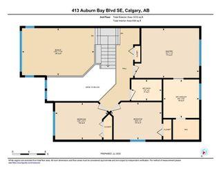 Photo 35: 413 AUBURN BAY Boulevard SE in Calgary: Auburn Bay Detached for sale : MLS®# A1015567
