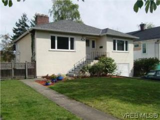 Photo 1: 2521 Fernwood Road in VICTORIA: Vi Oaklands Single Family Detached for sale (Victoria)  : MLS®# 281165