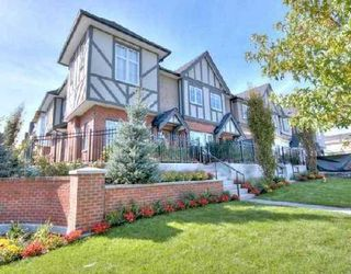 """Photo 1: 6161 OAK Street in Vancouver: South Granville Townhouse for sale in """"CARRINGTON"""" (Vancouver West)  : MLS®# V745819"""