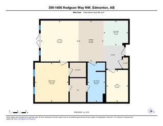 Photo 26: 309 1406 HODGSON Way in Edmonton: Zone 14 Condo for sale : MLS®# E4167558