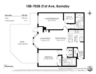 "Photo 14: 108 7038 21ST Avenue in Burnaby: Highgate Condo for sale in ""ASHBURY"" (Burnaby South)  : MLS®# R2460795"
