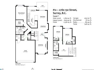 """Photo 18: 12 2780 150 Street in Surrey: Sunnyside Park Surrey Townhouse for sale in """"THE DAVENTRY"""" (South Surrey White Rock)  : MLS®# R2464358"""