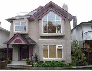 Main Photo: 3430 NAPIER ST in Vancouver: Renfrew VE House for sale (Vancouver East)  : MLS®# V562542