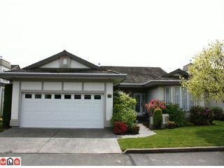 "Photo 1: 29 31445 RIDGEVIEW Drive in Abbotsford: Abbotsford West Townhouse for sale in ""PANORAMA RIDGE ESTATES"" : MLS®# F1015540"