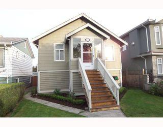Main Photo: 1228 HAZELTON Street in Vancouver: Renfrew VE House for sale (Vancouver East)  : MLS®# V739321