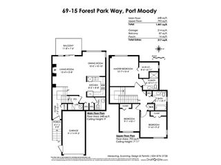 """Photo 20: 69 15 FOREST PARK Way in Port Moody: Heritage Woods PM Townhouse for sale in """"Discovery Ridge"""" : MLS®# R2398832"""