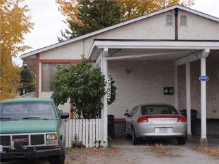 Photo 1: 2382 VICTORIA Street in Prince George: Downtown House 1/2 Duplex for sale (PG City Central (Zone 72))  : MLS®# N205304