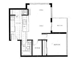"""Photo 11: 2002 1155 SEYMOUR Street in Vancouver: Downtown VW Condo for sale in """"BRAVA"""" (Vancouver West)  : MLS®# V775700"""