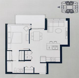 """Photo 4: 1808 13325 102A Avenue in Surrey: Whalley Condo for sale in """"Ultra Surrey City Centre"""" (North Surrey)  : MLS®# R2412195"""