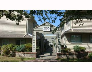 Photo 1: 6 7130 BARNET Road in Burnaby: Westridge BN Townhouse for sale (Burnaby North)  : MLS®# V782406