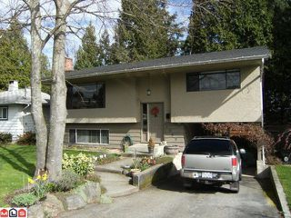 Photo 1: 1540 STEVENS Street: White Rock House for sale (South Surrey White Rock)  : MLS®# F1006996
